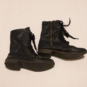 Combat Boots- Black Laceup from Target
